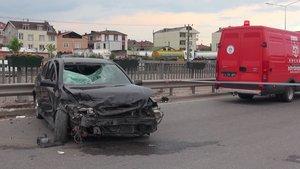 Kocaeli'de alkollü sürücünün çarptığı yaya 10 metre yükseklikten uçtu
