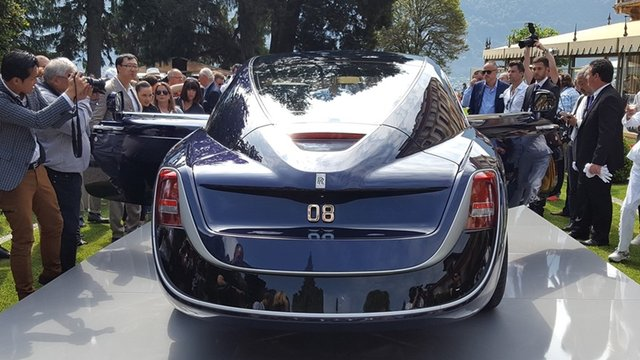 Rolls-Royce'un yeni otomobili Sweptail