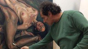 Türk ressamın portresi Londra'da