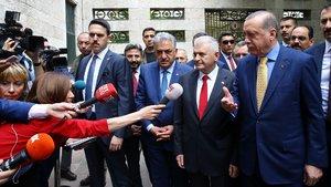 Erdoğan'dan 'kabine revizyonu' sorusuna yanıt