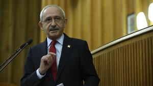 Kemal Kılıçdaroğlu, partisinin grup toplantısında konuşuyor