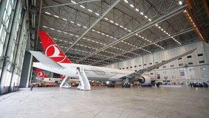 THY'nin 30'uncu Boeing 777-300ER uçağının koltukları yerli üretim oldu
