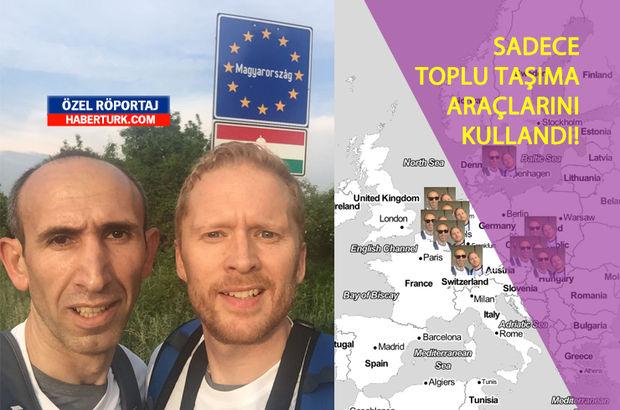 23 saatte 13 ülke gezip Guinness rekoru kıran çılgın Türk!
