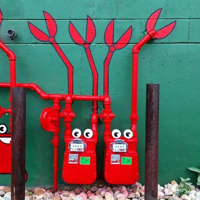 Sokak sanatının en çarpıcı örnekleri