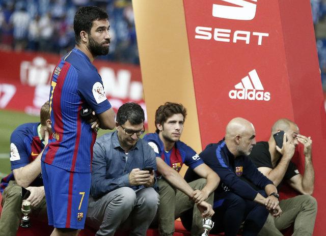 Barcelona'da Arda Turan kararı verildi