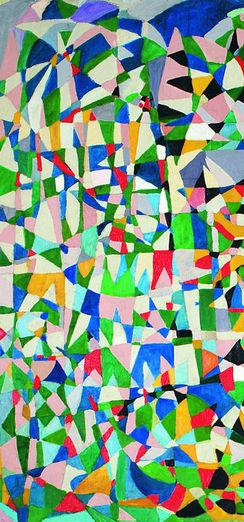 Renkli soyut kompozisyonlar