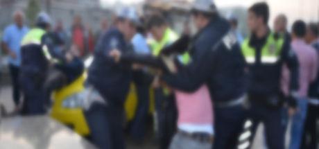 Polis ve taksi arasındaki tartışma Yargıtay'a taşındı