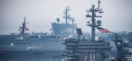 Japonya ve ABD'den ortak tatbikat