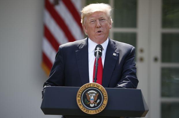 Donald Trump, Paris İklim Anlaşması'ndan çekildi
