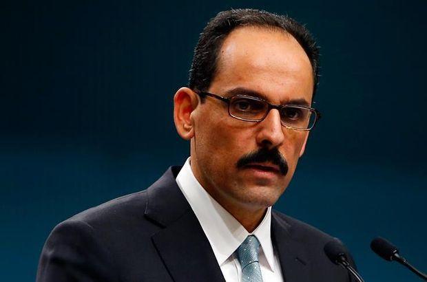 Cumhurbaşkanlığı Sözcüsü Kalın'dan Rakka açıklaması