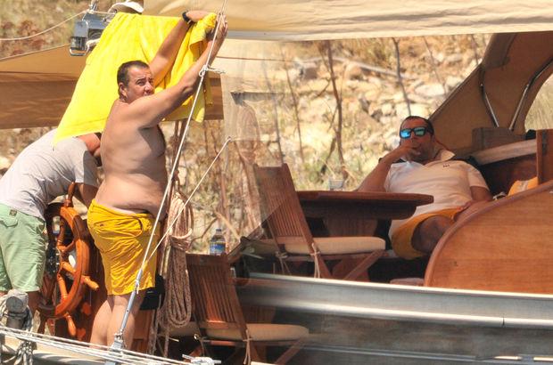 Ata Demirer, tekne sezonunu açtı