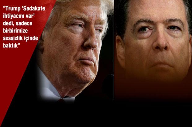 Bugün gözler, Trump'ın kovduğu eski FBI direktöründe olacak!