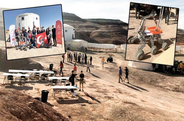 Mars Çölü ABD Kızıl Gezegen İTÜ İstanbul Teknik Üniversitesi