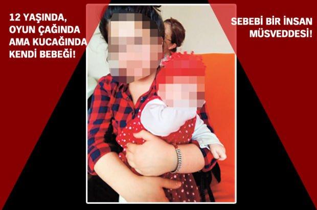 İstanbul'da Güven Y. sevgilisinin 12 yaşındaki kızını hamile bıraktı