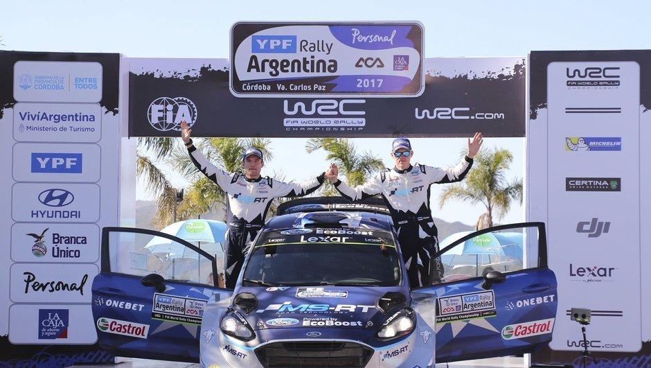 Ott Tanak, WRC'de tarih yazdı!