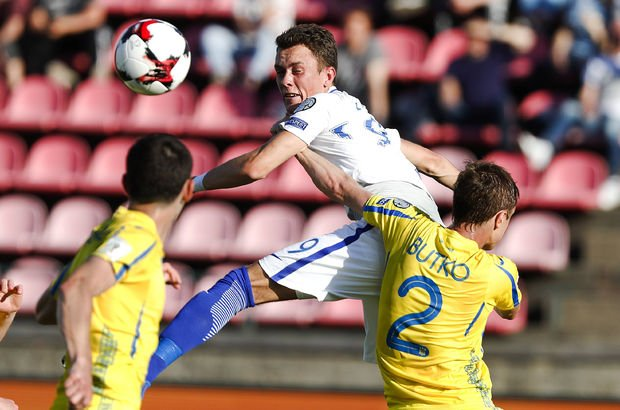 Ukrayna Finlandiya'yı 2 golle geçti