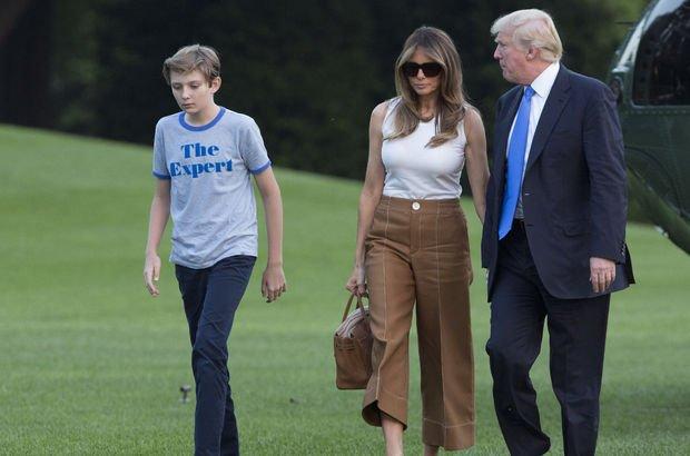 Melania Trump, 5 ay sonra Beyaz Saray'da: Çok heyecanlıyım
