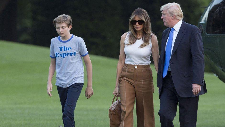 Melania Trump nihayet Beyaz Saray'a taşındı