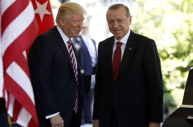 Erdoğan, Trump'la Katar'ı görüşecek