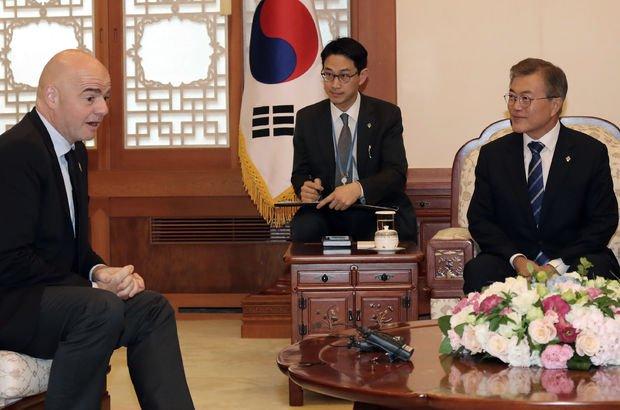 Güney Kore'den 'Asya'da barış' için Dünya Kupası önerisi