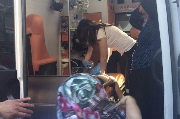 Kağıthane'de 10 yaşındaki çocuğun kafası asansöre sıkıştı