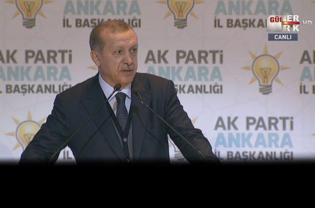 Cumhurbaşkanı Recep Tayyip Erdoğan'dan AK Parti Ankara İl Teşkilatı iftarında açıklamalar