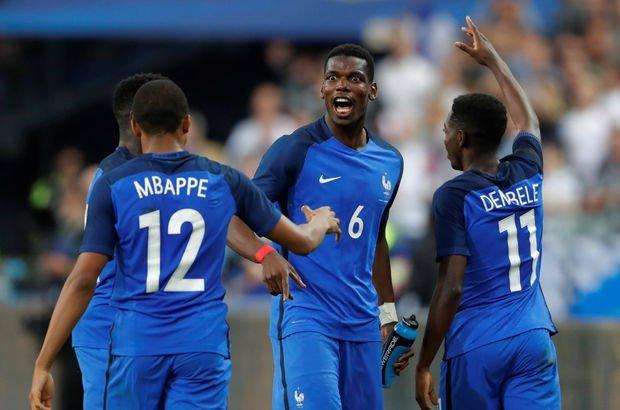 Fransa: 3 - İngiltere: 2   MAÇ SONUCU