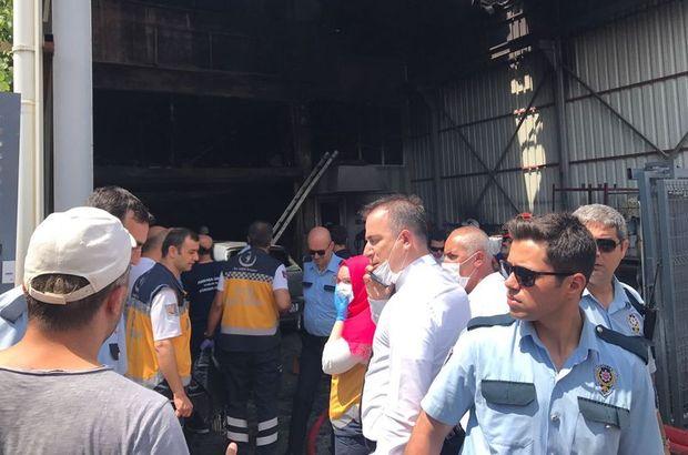 Ankara İvedik Sanayi Bölgesi'nde patlama!