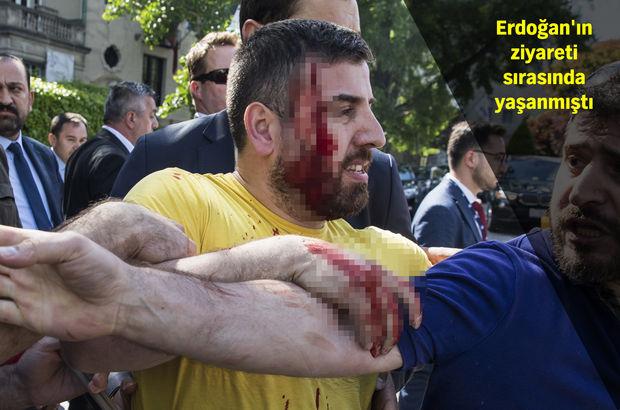 Türkiye'nin Washington Büyükelçiliği önündeki olaylarla ilgili flaş gelişme