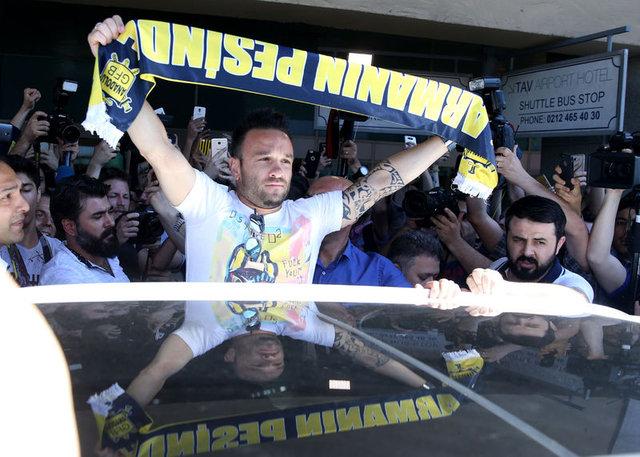 Fenerbahçe'nin yeni transferi Mathieu Valbuena'dan çarpıcı açıklamalar...