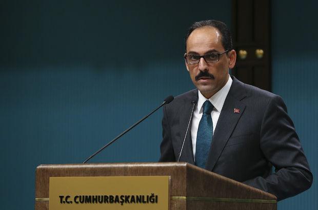 Cumhurbaşkanlığı Sözcüsü İbrahim Kalın'dan Berberoğlu açıklaması