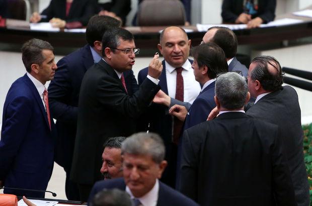"""Meclis'te """"Adalet Yürüyüşü"""" gerginliği"""