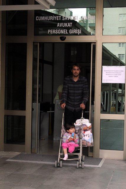 Antalya'da, bacağı kesilen minik Özge Yıldırım artık yürüyor