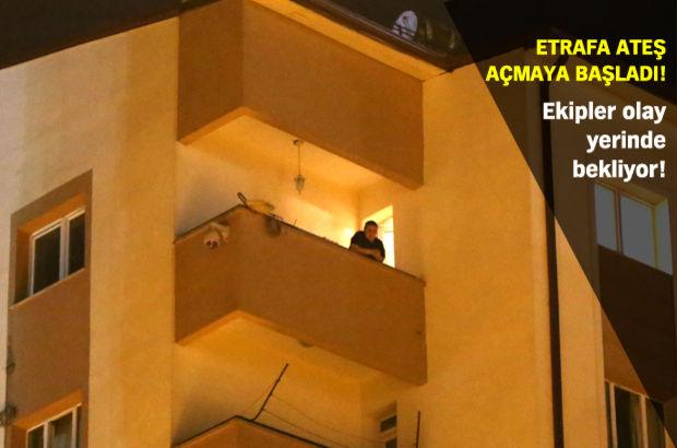 Sivas'ta 54 yaşındaki kadın, polisi alarma geçirdi
