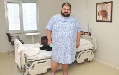 6 ayda 63 kilo vererek 120 kiloya düştü