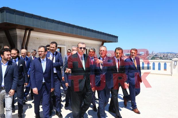 İnşaatında sona gelindi! Erdoğan inceledi