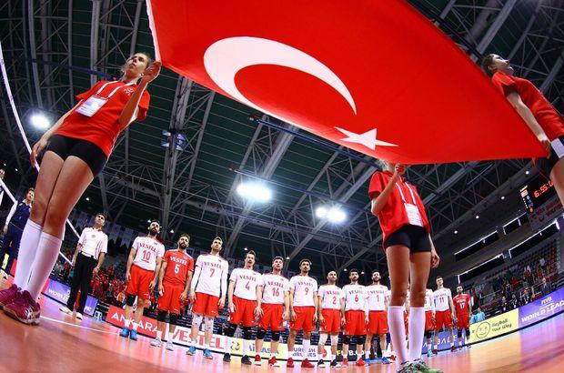 Türkiye A Milli Erkek Voleybol takımı