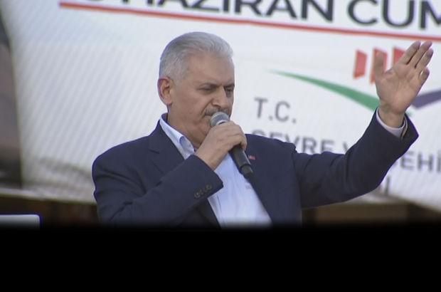 Diyarbakır Başbakan Binali Yıldırım Kemal Kılıçdaroğlu