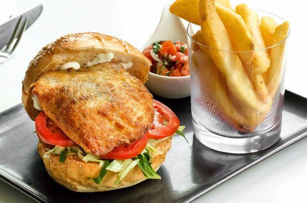 Levrek burger