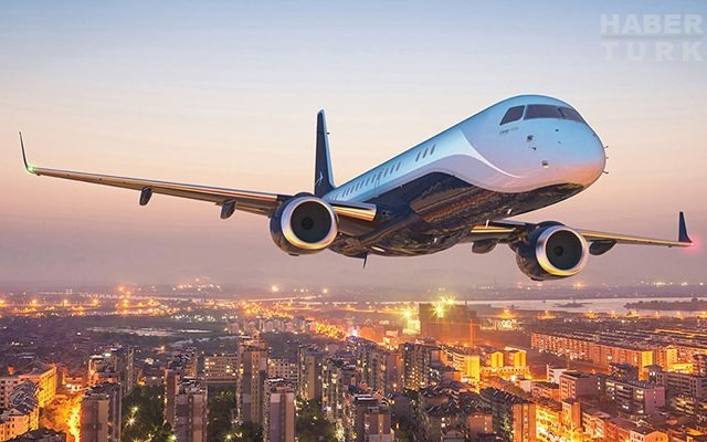 83 milyon dolarlık otel gibi jet