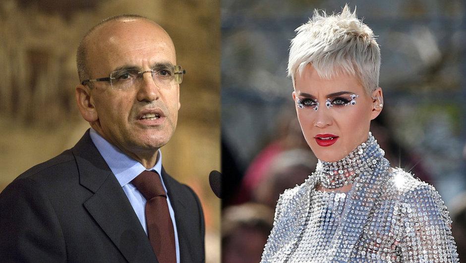 Mehmet Şimşek Katy Perry