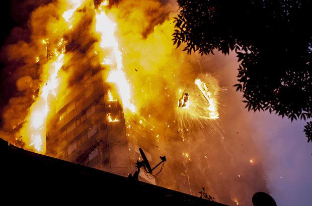 Londra'daki yangın