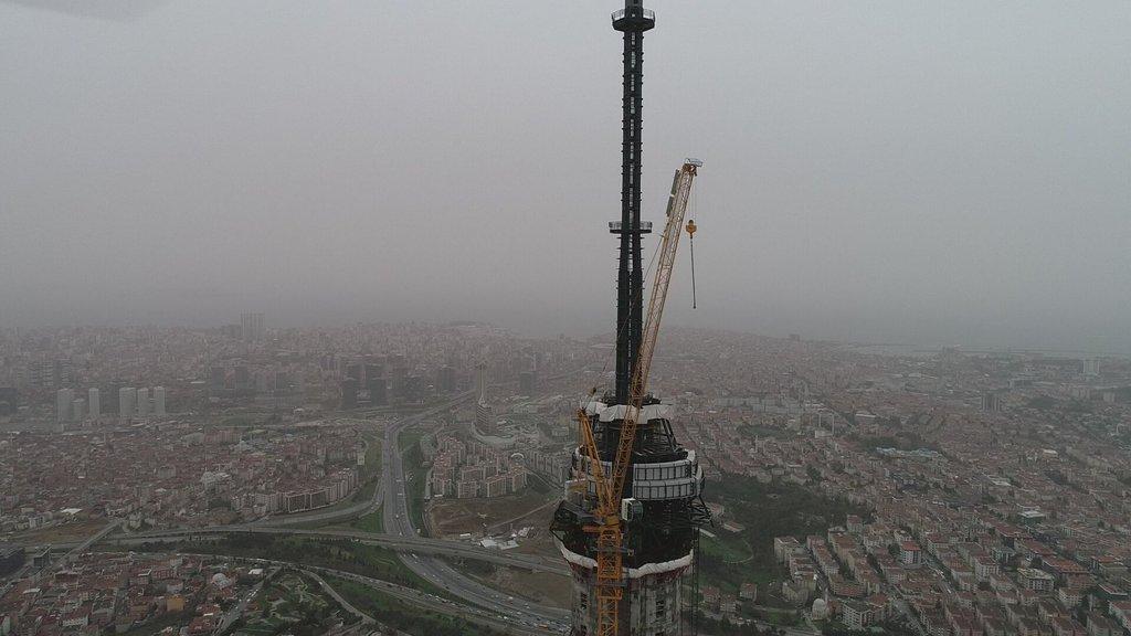 Küçük Çamlıca TV-Radyo Kulesi'nde son durum!