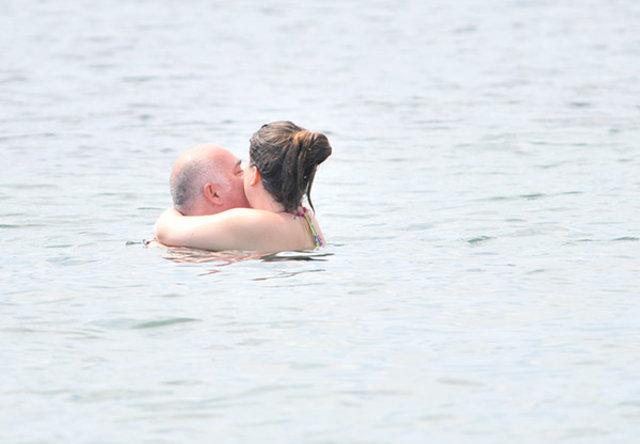 Denizde aşk yaşadılar
