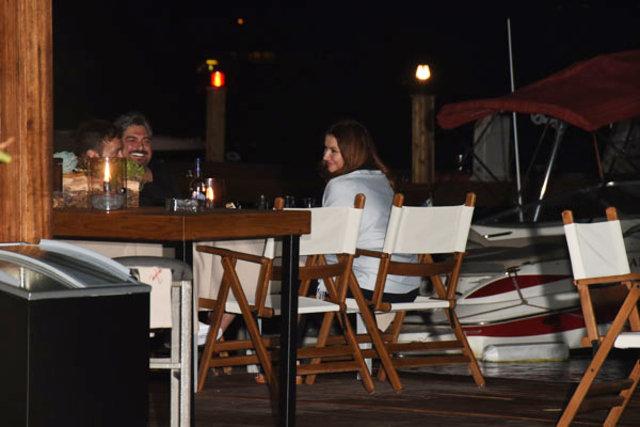 Deniz Seki ile Faruk Salman'ın 'aşk tatili'
