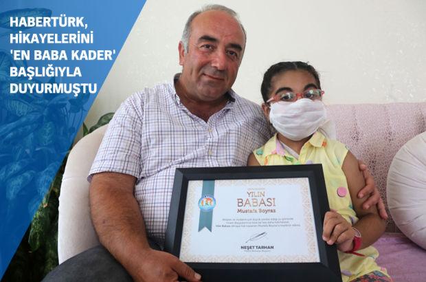 'Yılın Babası' kızına böbreğini veren Mustafa Boyraz oldu