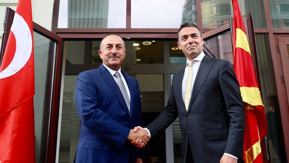 Mevlüt Çavuşoğlu Makedonya