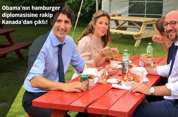 Kanada Başbakanı'ndan Belçika Başbakanı onuruna yemek!