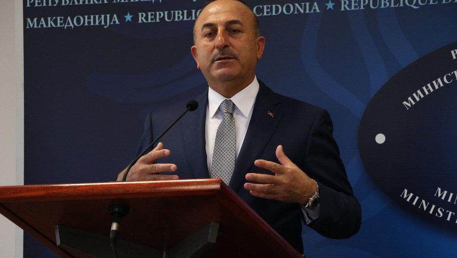 Mevlüt Çavuşoğlu Katar  Makedonya