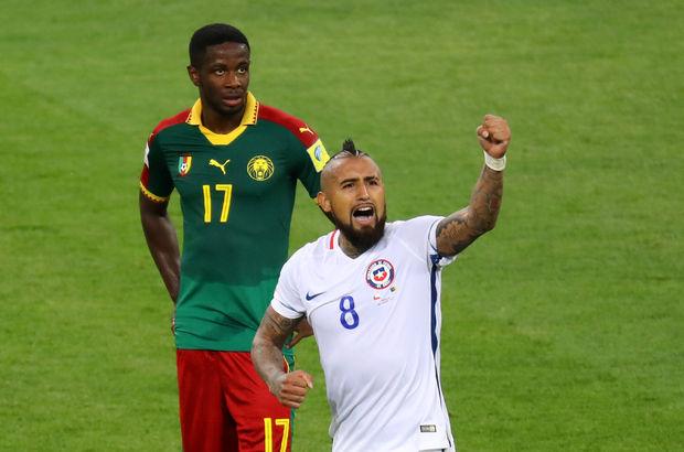Kamerun: 0 - Şili: 2